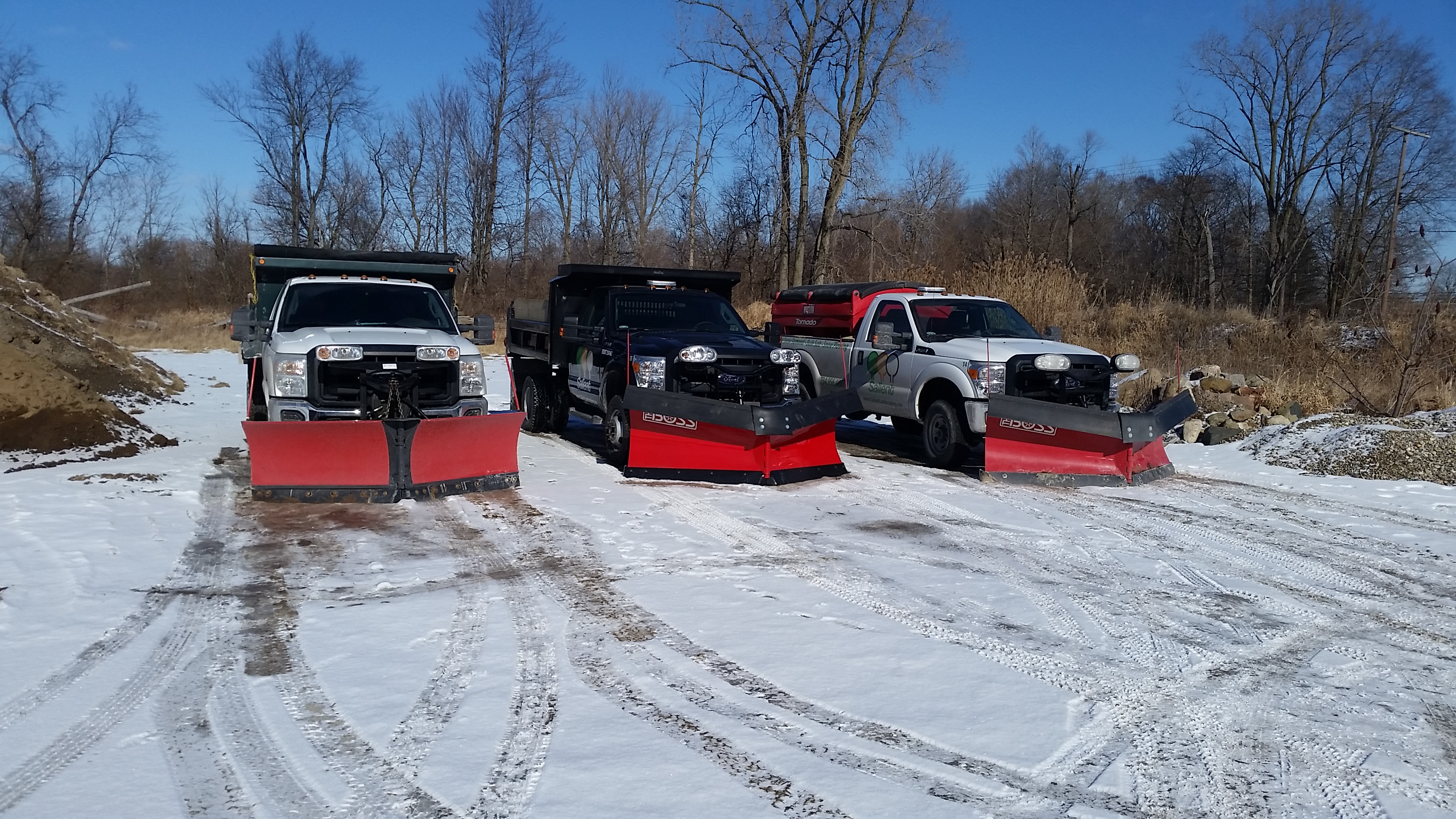 Commercial Snow Removal Salient Landscaping