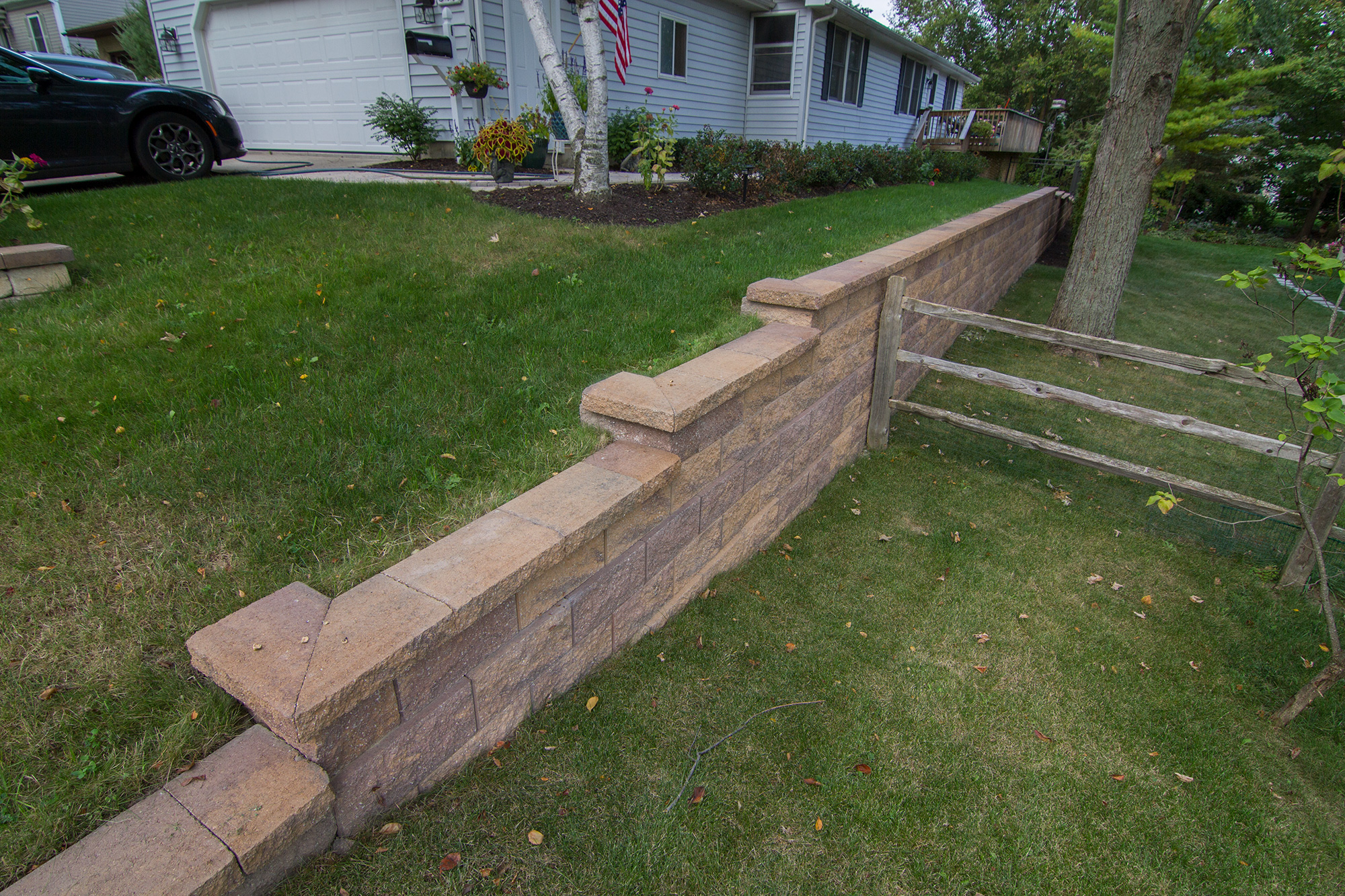 retaining walls and boulder walls salient landscaping