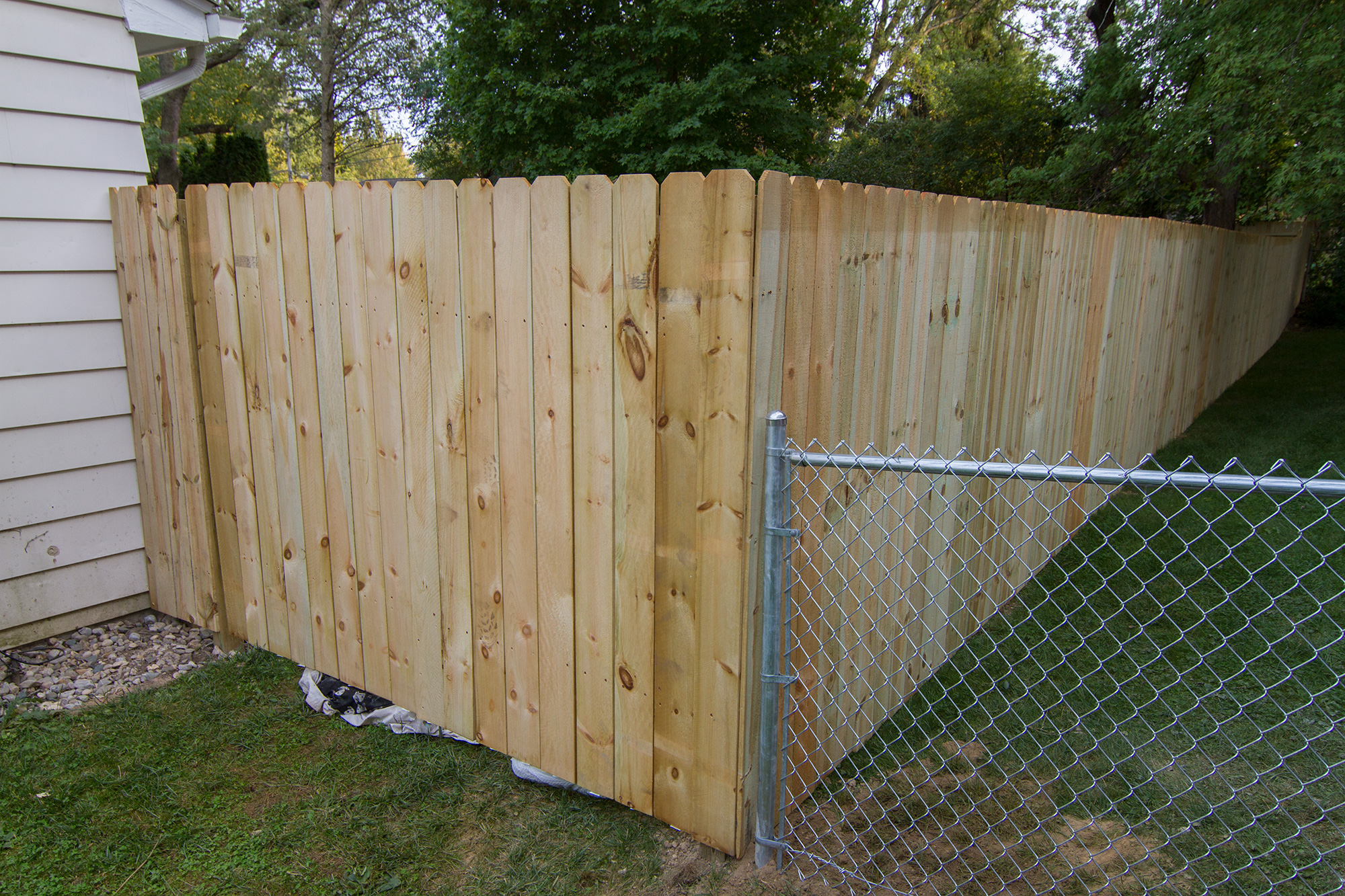 Fence Installation Salient Landscaping Residential And